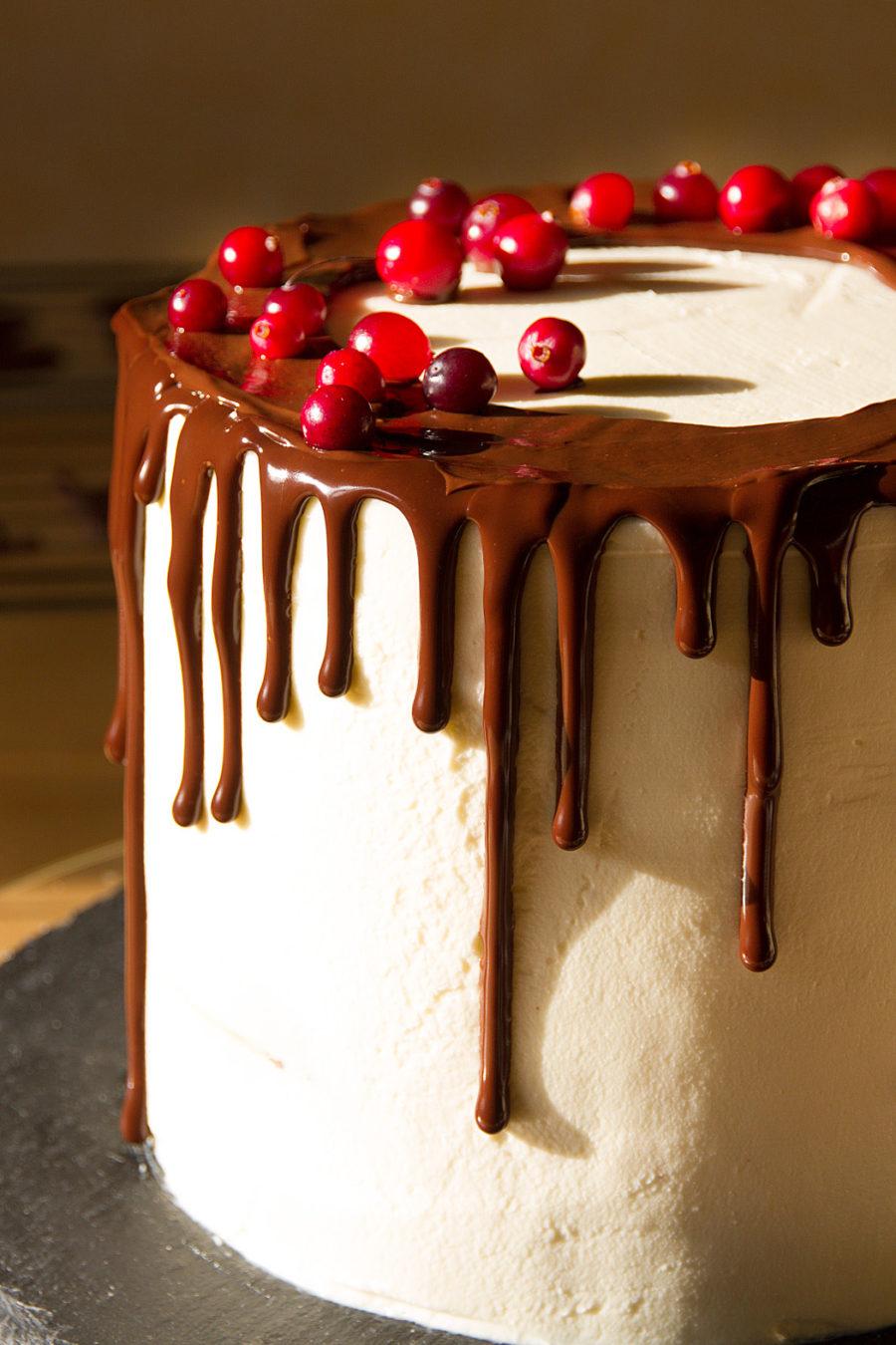 Торт с подтеками шоколада рецепт пошагово
