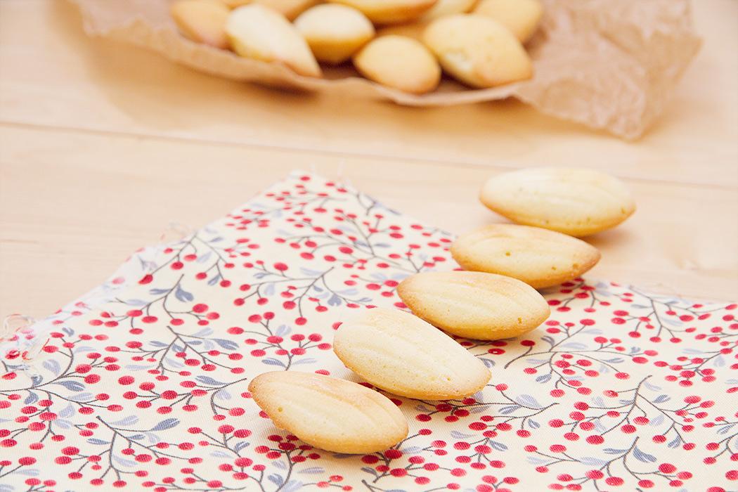 рецепт печенья мадлен