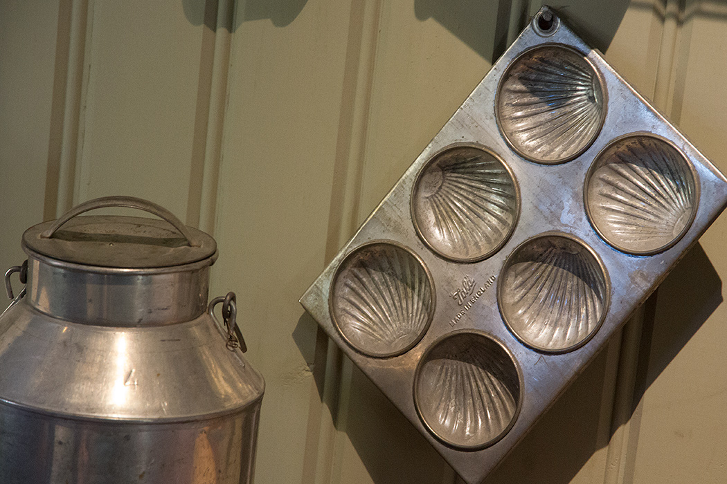 форма для мадленок в музее Куопио