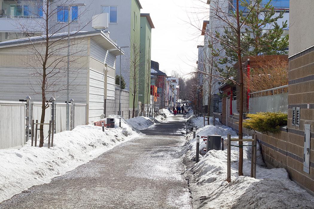 улицы Куопио
