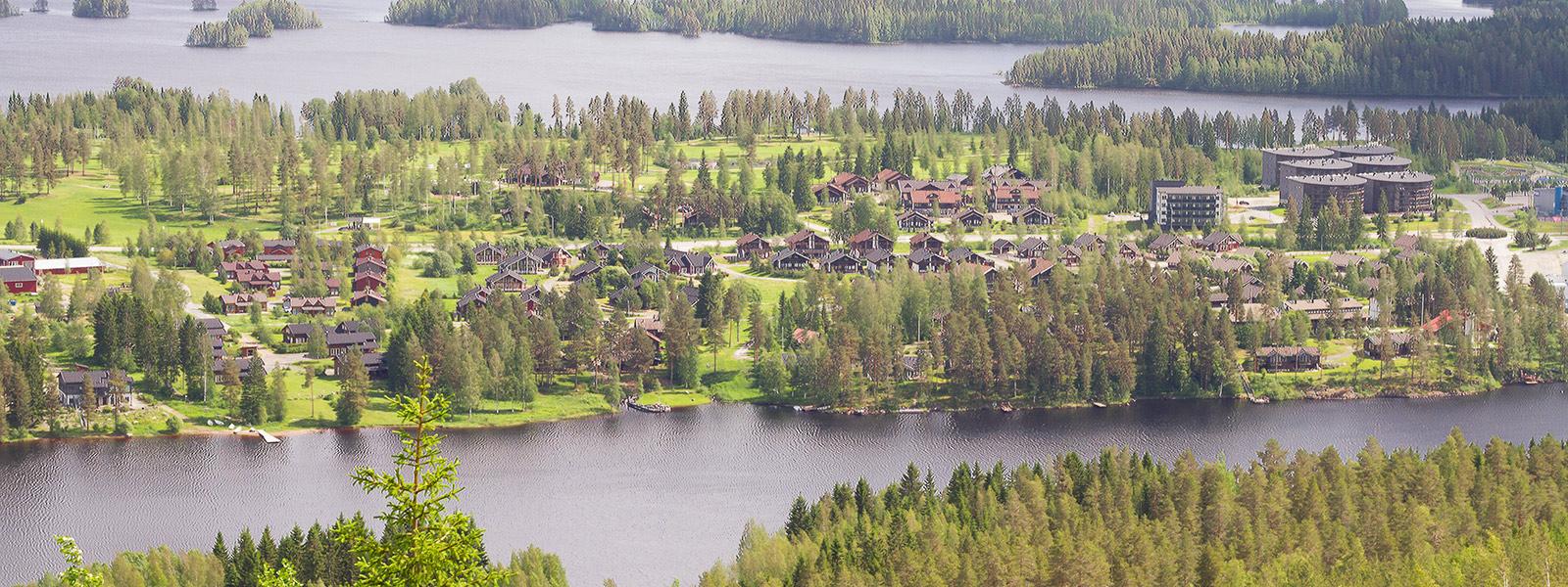 Panorama of Tahko