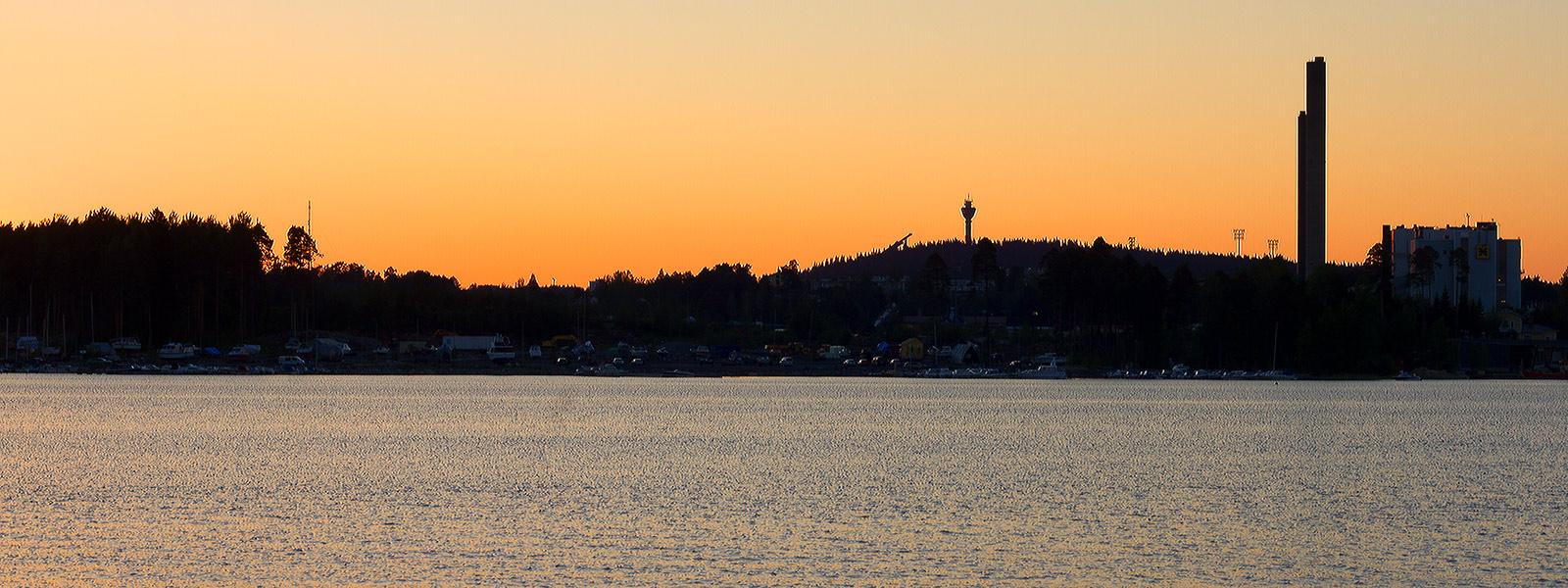 Panorama of Kuopio