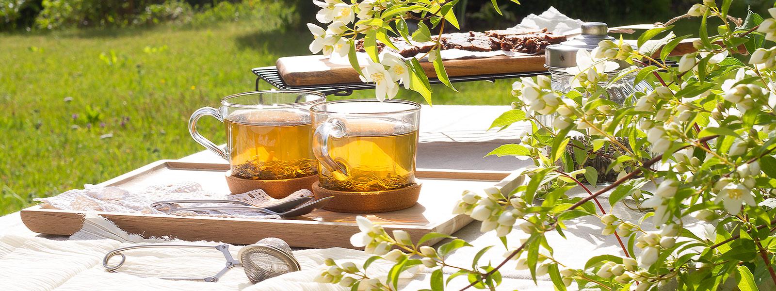 Jasmin tea setting