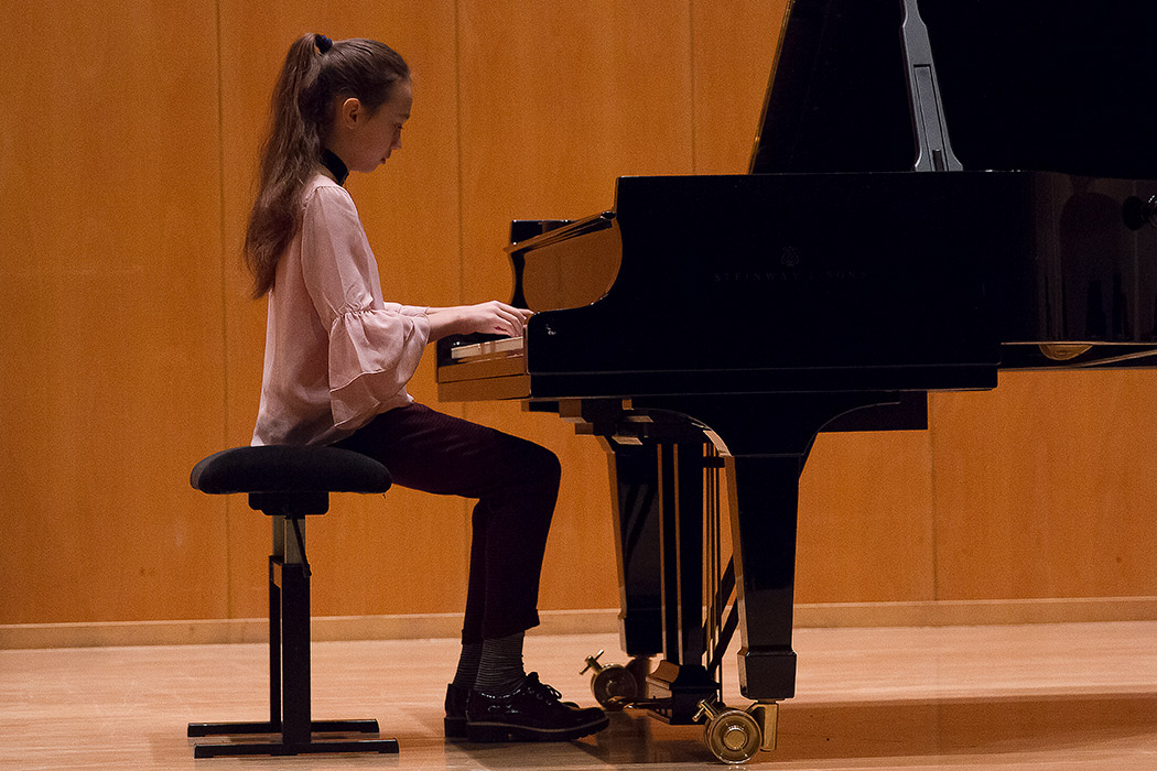 Саша в консерватории Куопио
