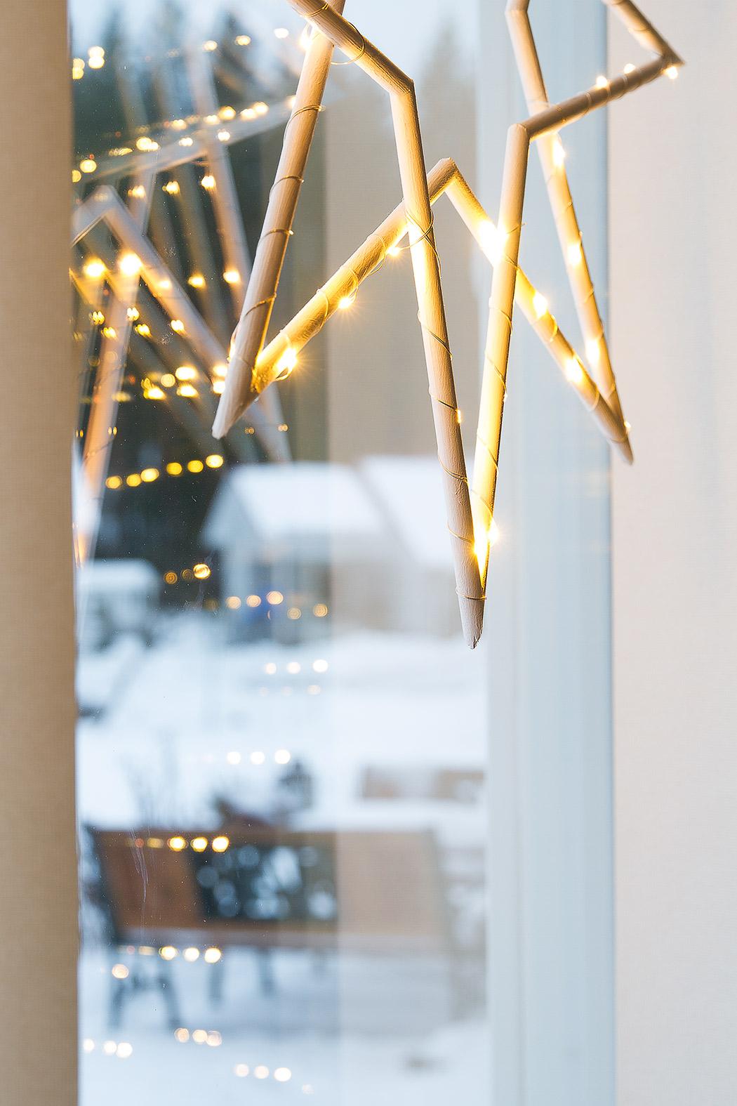 деревянная рождественская звезда